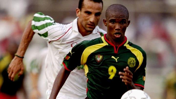 Samuel Etoo Camarão Olimpíada 2000 Espanha