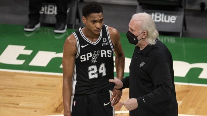 Gregg Popovich - San Antonio Spurs v Boston Celtics