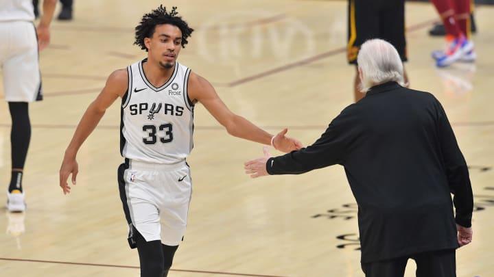 San Antonio Spurs Gregg Popovich Tre Jones