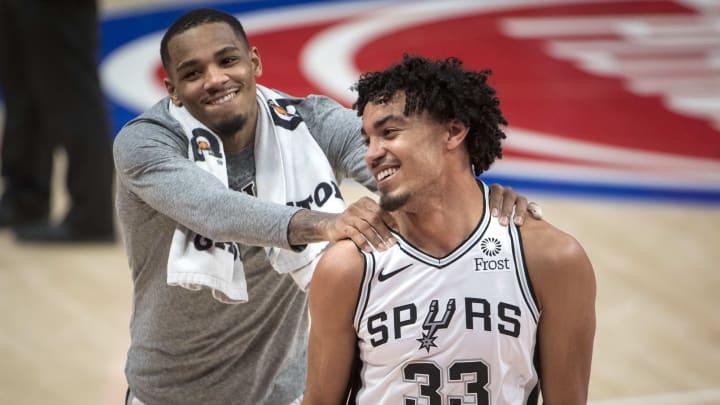 Tre Jones - San Antonio Spurs v Detroit Pistons