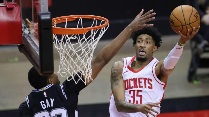 Christian Wood está promediando 22 puntos, 10 rebotes y 1.5 bloqueos por juego con los Rockets