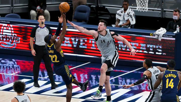 Drew Eubanks - San Antonio Spurs v Indiana Pacers