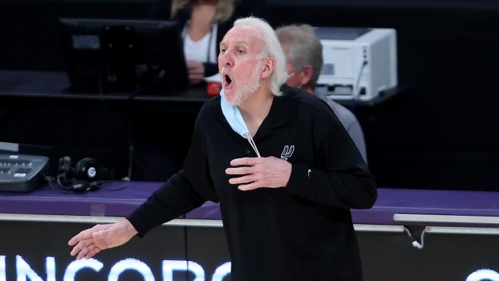Gregg Popovich, San Antonio Spurs v Los Angeles Lakers