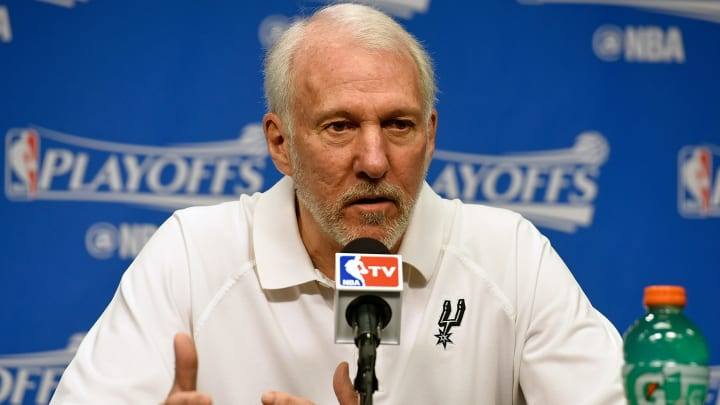 San Antonio Spurs Gregg Popovich