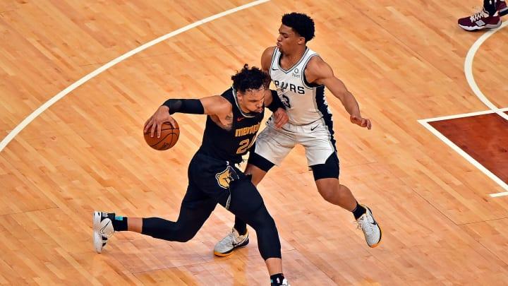 Keldon Johnson - San Antonio Spurs v Memphis Grizzlies - Play-In Tournament