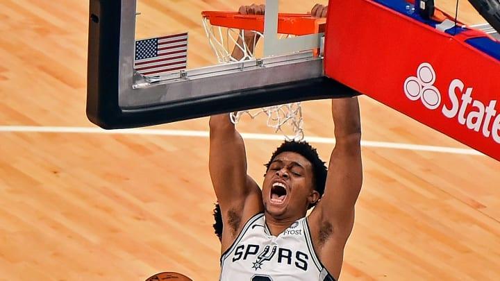 Keldon Johnson - San Antonio Spurs v Memphis Grizzlies