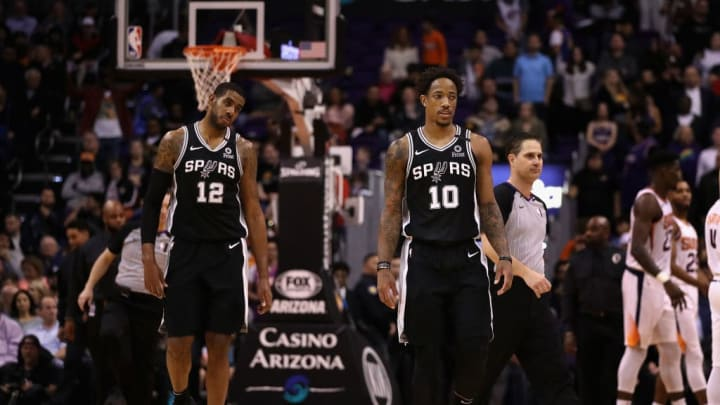 The Spurs believe the duo of DeMar DeRozan and LaMarcus Aldridge can lead them to the postseason.