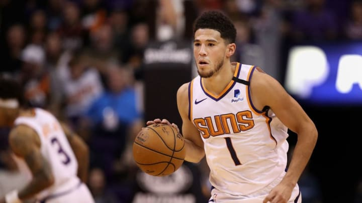 Devin Booker put up numbers worthy of an All-Star selection.