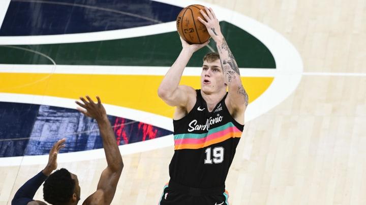 Luka Samanic - San Antonio Spurs v Utah Jazz