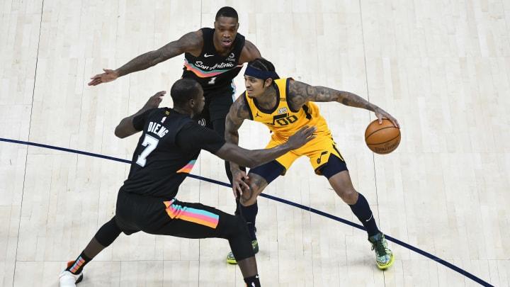 Gorgui Dieng - San Antonio Spurs v Utah Jazz