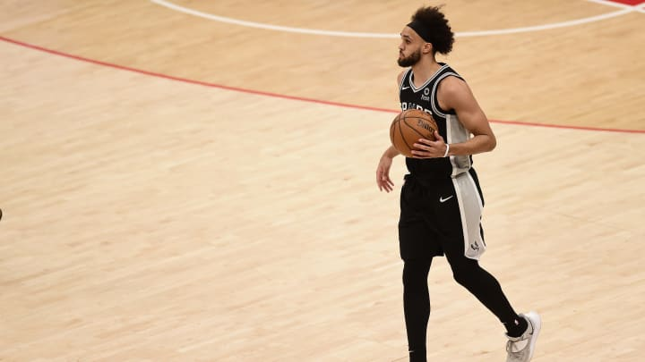 Derrick White - San Antonio Spurs v Washington Wizards