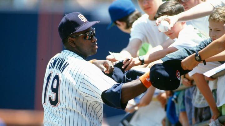 San Diego Padres legend Tony Gwynn is one of the best hitters ever.