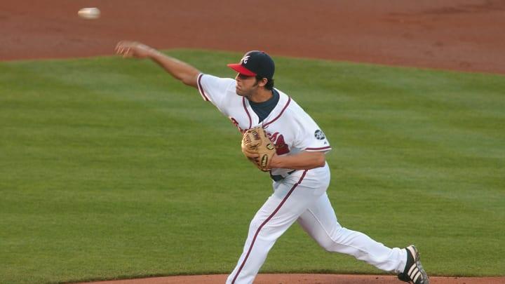Atlanta Braves pitcher Anthony Lerew