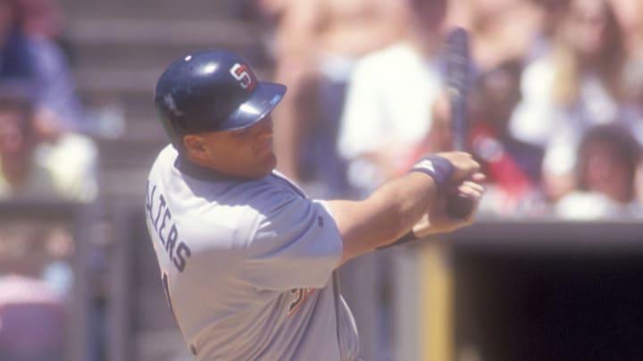 Dan Walters as a member of the San Diego Padres
