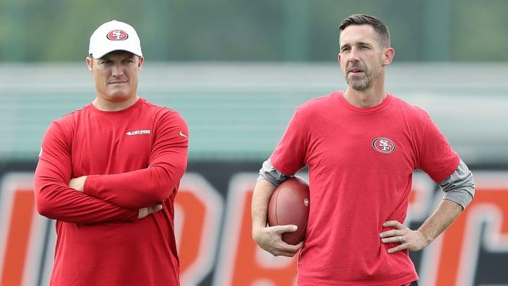 Kyle Shanahan and John Lynch