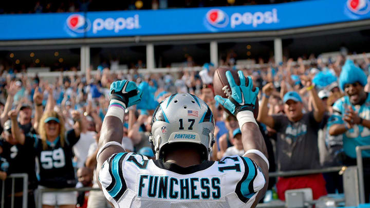 Green Bay hopes Devin Funchess will do a few Lambeau Leaps in 2020.