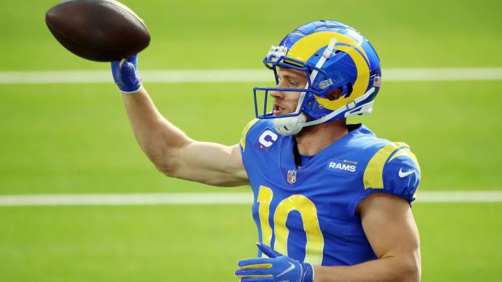 Cooper kupp estará disponible para el juego de playoffs entre Rams y Seahawks