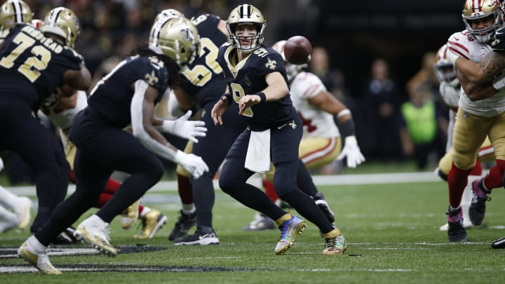 49ers vs Saints spread, odds, line, over/under and prediction for Week 10 NFL game.