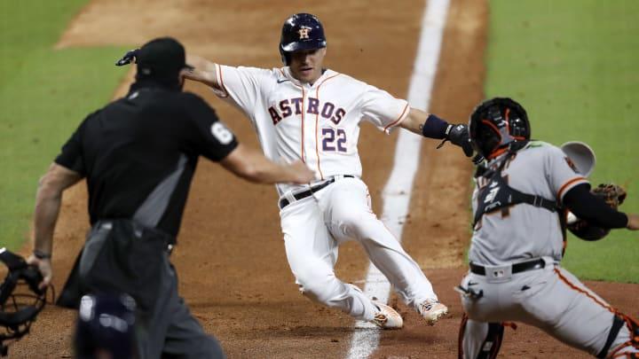 MLB en vivo: Gigantes de San Francisco vs. Astros de Houston