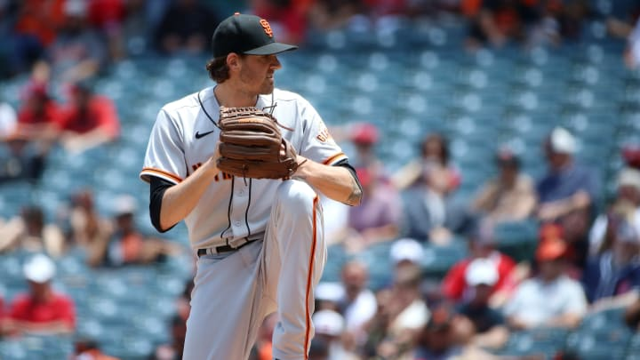 Kevin Gausman is looking to keep his team in first in the NL West.