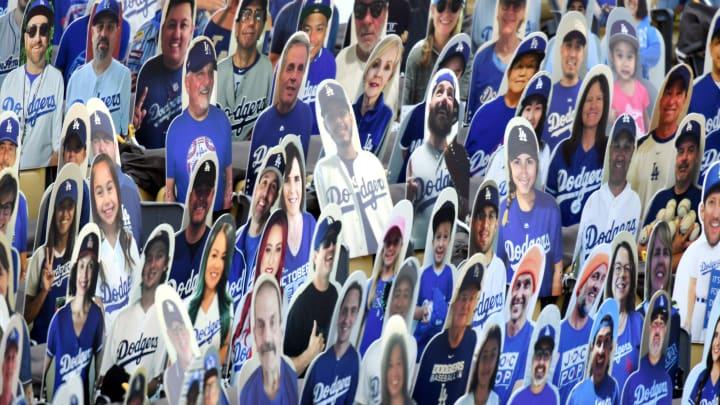 Fake Los Angeles Dodgers fans.