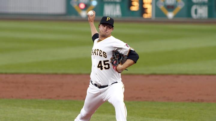 Gerrit Cole pasó cinco temporadas con los Piratas de Pittsburgh en las que consiguió récord de 59-42 y efectividad de 3.50