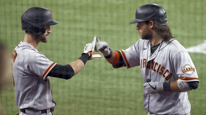 Brandon Crawford leads the Giants in home runs this season with 14.