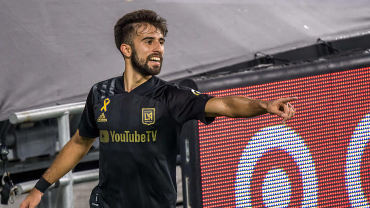 Diego Rossi during San Jose Earthquakes v Los Angeles FC
