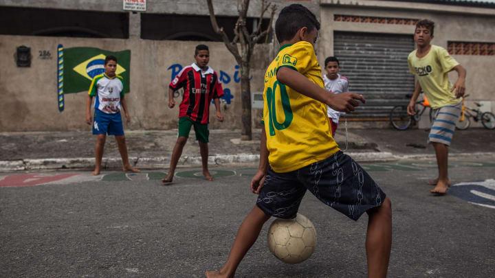 Santos, Brazil Takes Pride In Star Player Neymar's Local Rise