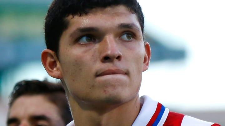 La promesa Sebastián 'Chevy' Martínez está llamado a ser el próximo delantero titular del Guadalajara.