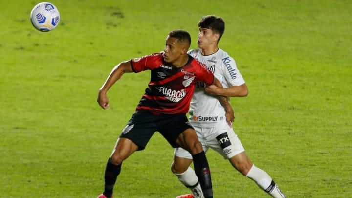 Vitinho, Gabriel Pirani Santos  Athletico Copa Brasil