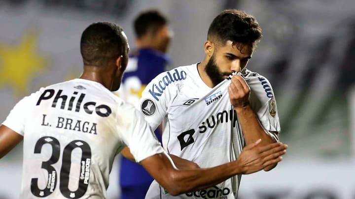 Santos venceu o Boca Juniors por 1 a 0 na Vila Belmiro
