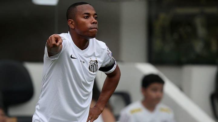 Robinho während seiner Zeit beim FC Santos