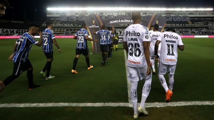 Santos e Grêmio são os representantes brasileiros