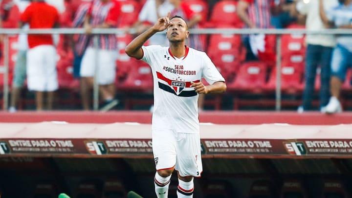 Luis Fabiano, Morumbi, São Paulo
