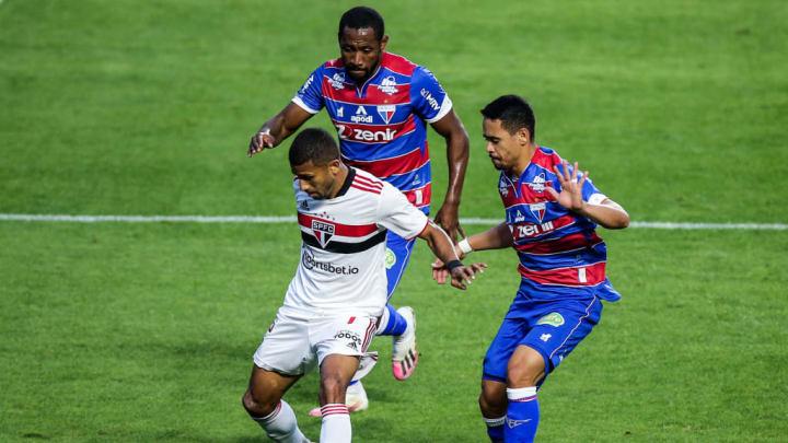 Tinga Yago Pikachu Fortaleza Copa do Brasil São Paulo Atlético-MG