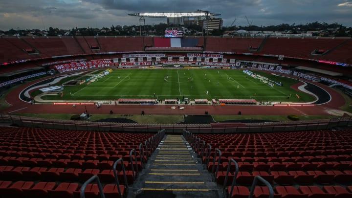 Morumbi foi palco da partida entre São Paulo e Fortaleza