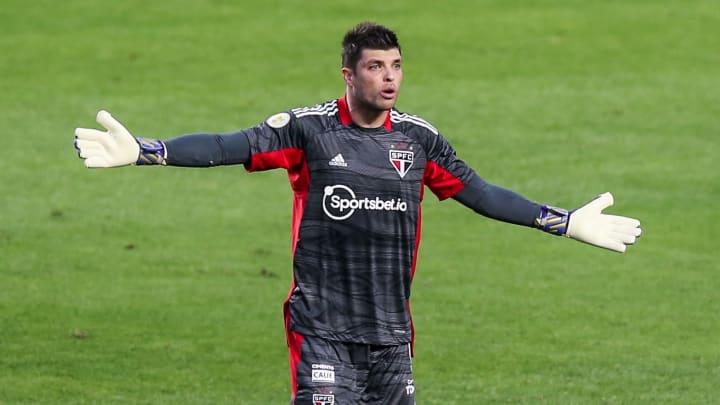 Thiago Volpi é questionado há um bom tempo no São Paulo.