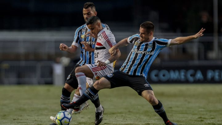 Everton, Maicon, Ramiro
