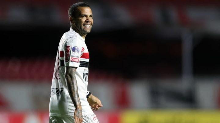 Dani Alves São Paulo Libertadores