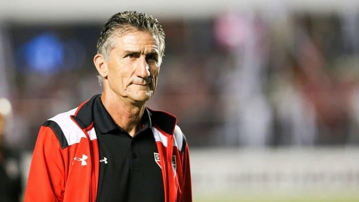Sao Paulo v River Plate - Copa Libertadores 2016 - Bauza en San Pablo.