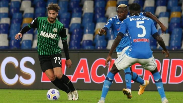 Manuel Locatelli attend un accord entre la Juve et Sassuolo.