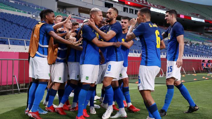 Brazil vs Egypt Olympic men's soccer odds & prediction on FanDuel Sportsbook.