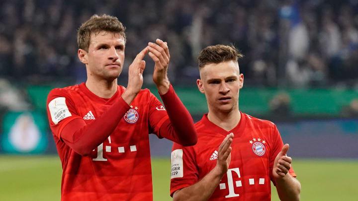 Kimmich y Müller representan al Bayern en esta lista más blanca