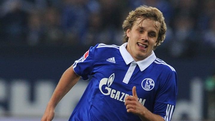 Schalke's Finnish midfielder Teemu Pukki