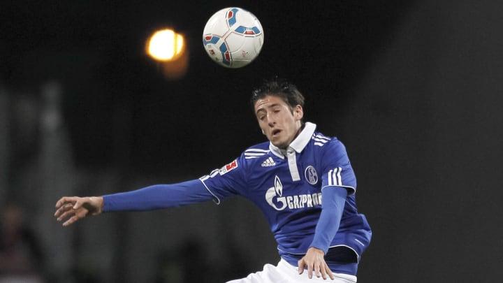 Schalke's Spanish defender Sergio Escude