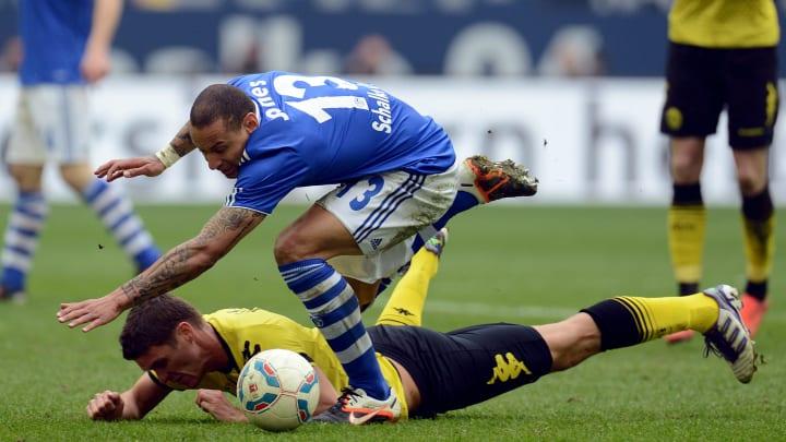 Schalke's US midfielder Jermaine Jones (