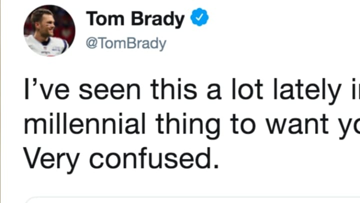 Tom Brady Is Officially Complaining About Millennials On