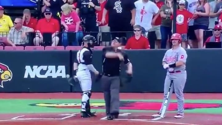 VIDEO: Louisville's Michael McAvene Ridiculously Ejected