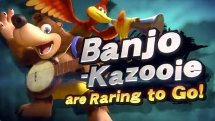 Banjo-Kazooie Smash are the next characters to join Super Smash Bros Ultimate in the fall